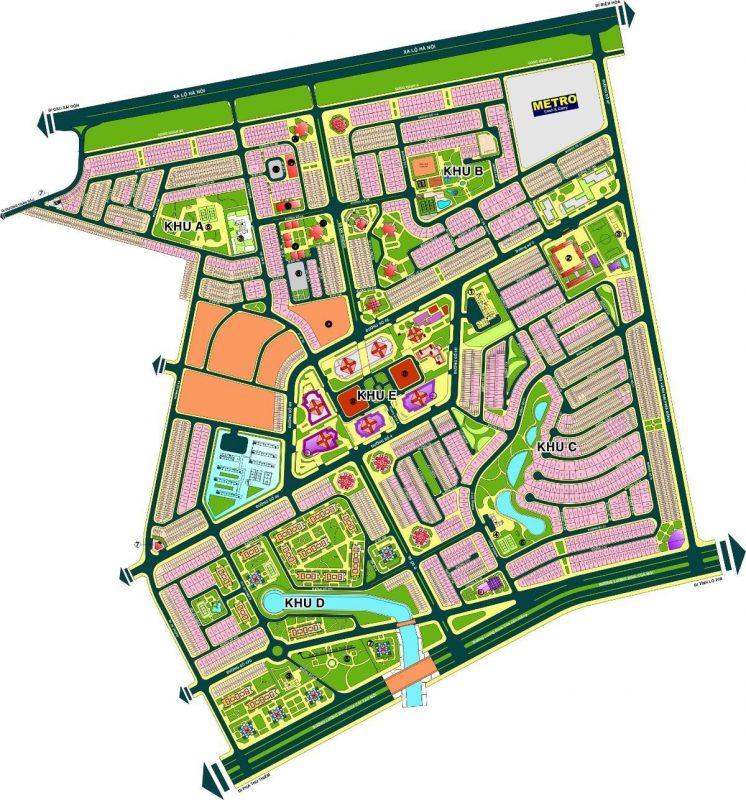 Quy hoạch Đất nền An Phú - An Khánh - Quận 2