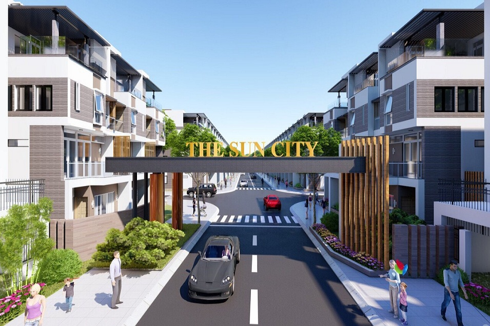 Bất động sản Đất nền The Sun City
