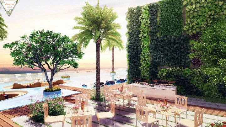 BBQ và Cafe tầng thượng River Panorama