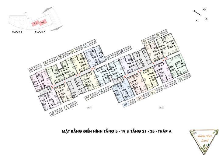 Tầng 5 - 35 tháp A