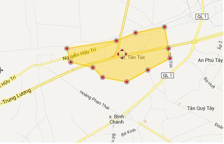 Quy hoạch Thị trấn Tân Túc - huyện Bình Chánh