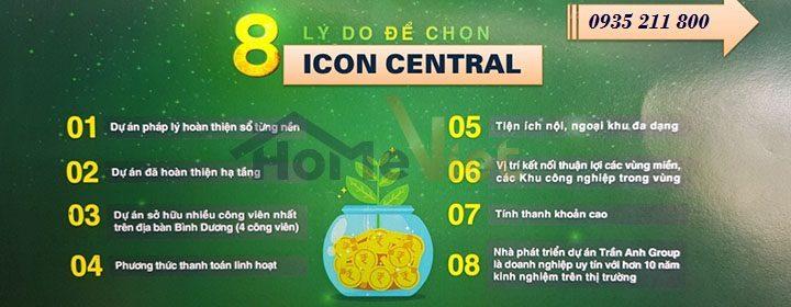 Lý do chọn dự án Icons Central