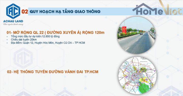 Quy hoạch huyện Củ Chi