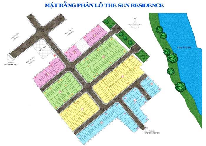 Mặt bằng The Sun Residence