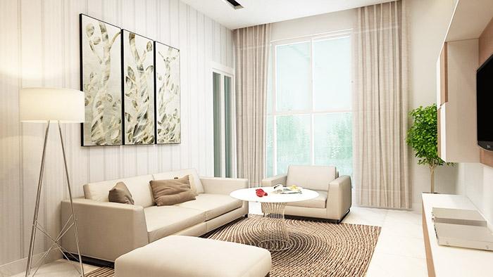 Thiết kế căn hộ Hưng Lộc Phát