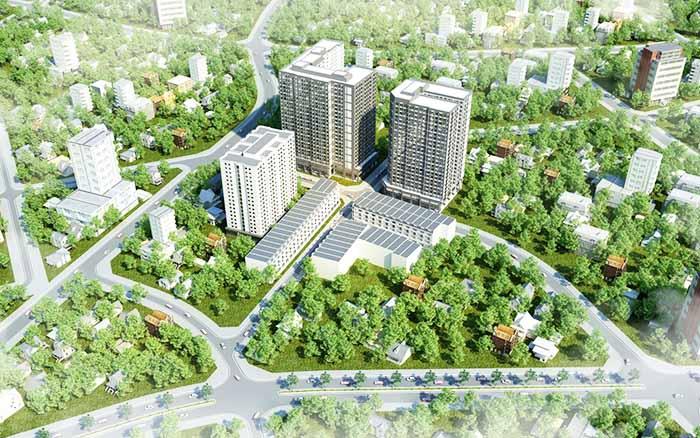 Phối cảnh dự án Alva Plaza