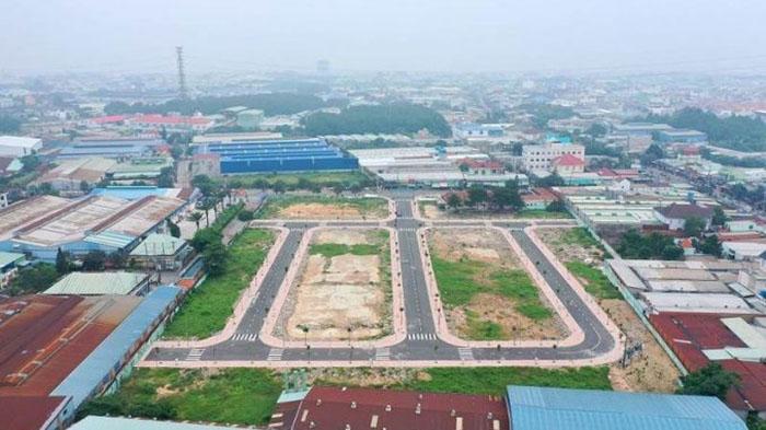 Ảnh thực tế Mặt bằng Thuận An Central
