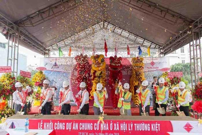 Khởi công dự án Phú Thọ DMC