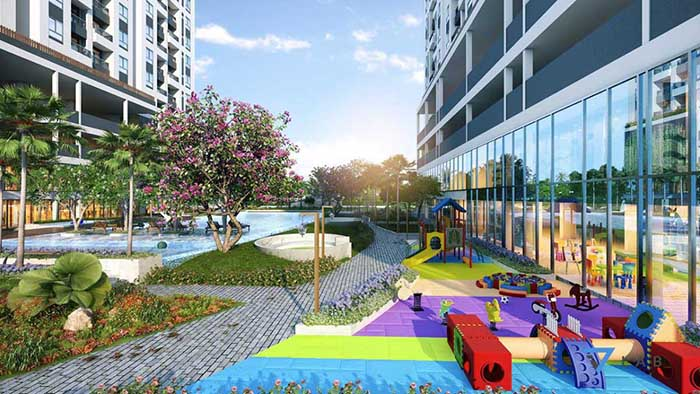 Tiện ích nội khu Minh Quốc Plaza