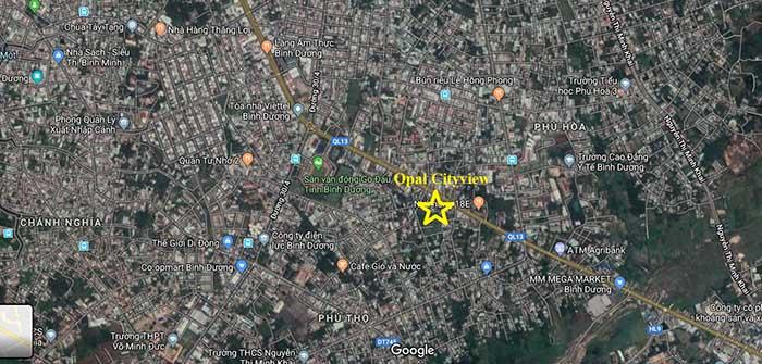 Vị trí Opal CityView