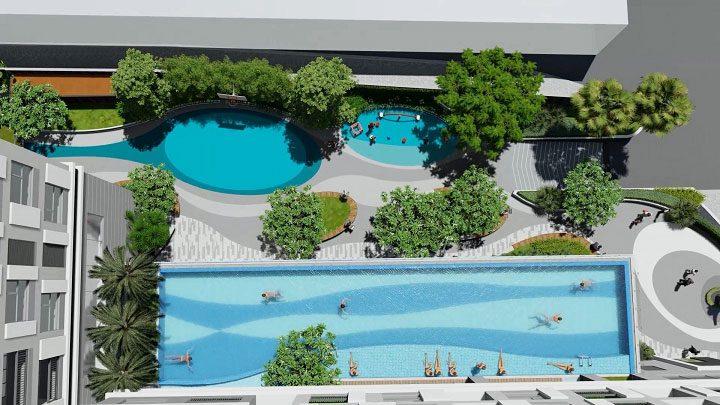 Hồ bơi Happy One Thạnh Lộc