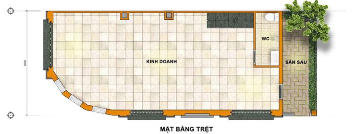 Thiết kế Tầng trệt